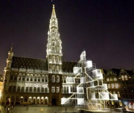 Árbol Navidad Bruselas XMas 3 460x388 El impopular árbol de Navidad de Bruselas