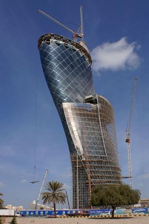 400px Capital Gate Abu Dhabi 001 306x460 El edificio más inclinado del mundo