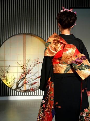 449px Kimono backshot by sth 344x460 Kimonos, los vestidos tradicionales japoneses