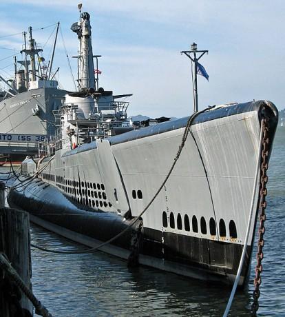 540px Pampanito submarine San Francisco 414x460 Visita al Submarino USS Pampanito