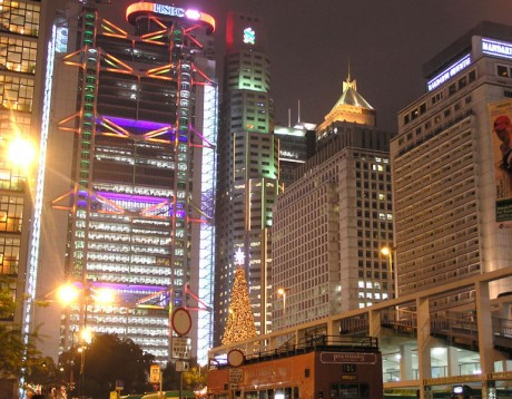 769px HKHSBCBuilding 460x358 HSBC Main Building, un grande entre los rascacielos