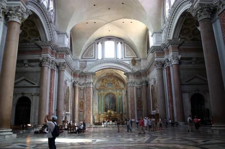 800px 3222   Roma   Santa Maria degli Angeli   Interno   Foto Giovanni DallOrto 17 June 2007 460x305 Basílica de Santa María de los Ángeles y los Mártires