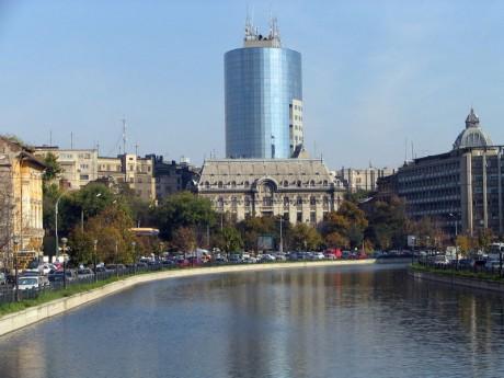 800px Bancorex building bgiu 460x345 Bucarest, puerta de entrada a Rumanía