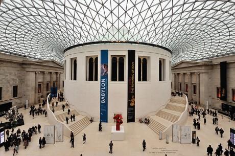 800px British Museum Dome 460x305 British Museum de Londres