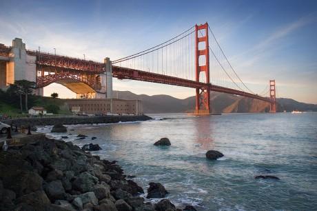 800px GG ftpoint bridge 2 460x306 El puente de San Francisco
