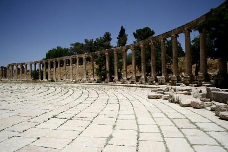 800px Jerash 460x306 Jerash, ruinas romanas en Jordania