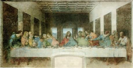 800px Leonardo da Vinci 1452 1519   The Last Supper 1495 1498 460x235 La última cena, en Milán