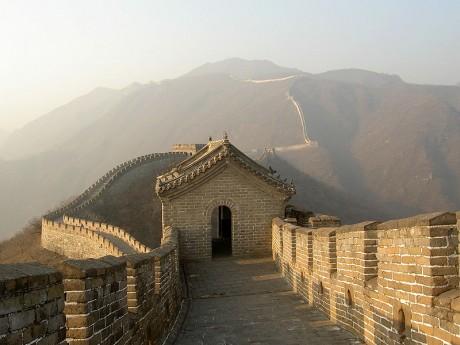 800px Noel 2005 Pékin 031 muraille de chine Mutianyu 460x345 La Gran Muralla china