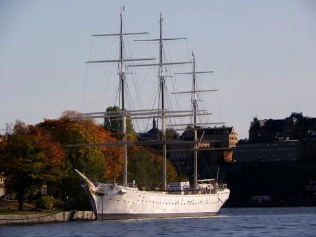 Af Chapman 460x345 Af Chapman, un albergue en un barco