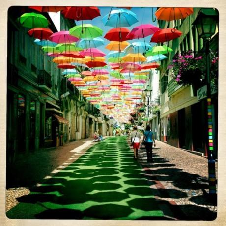 AgitAgueda 460x460 Un techo de paraguas en Águeda