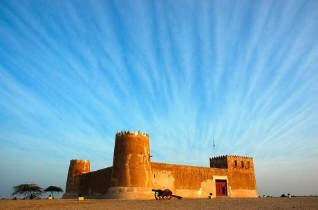 Al Zubara fuerte 460x305 Al Zubarah, una ciudad fantasma de coral