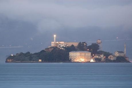 Alcatraz 460x307 La siniestra prisión de Alcatraz