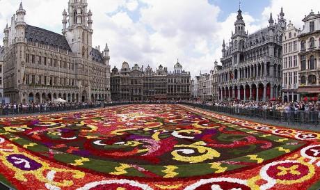 Alfombra de flores Bruselas 460x273 Las alfombras de flores de Bruselas