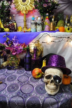 Altar 307x460 Fet Gede, celebración en Haití