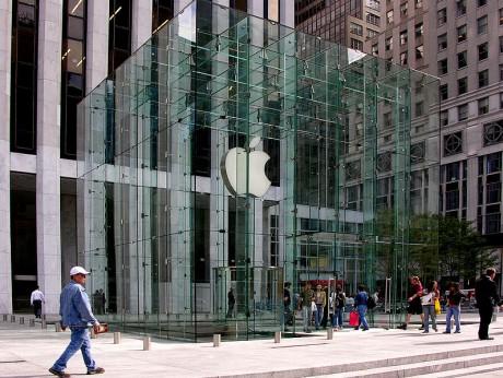 Apple Store 460x346 La Apple Store de Nueva York, diseño en la Quinta Avenida
