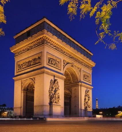Arco del Triunfo 424x460 El Triunfo de París
