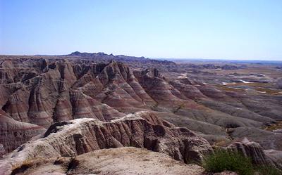 Badlands Parque Nacional de Badlands, paisajes de piedra
