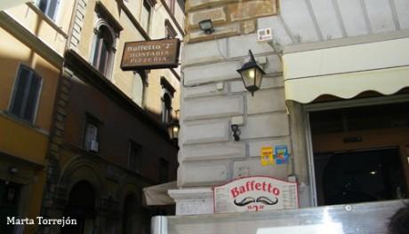 Baffeto 460x264 La pizzería Baffeto, típica de Roma