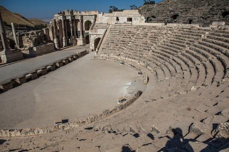 Beit Shean 460x306 Beit She'an o Escitópolis: una urbe cosmopolita desde los tiempos antiguos