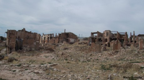 Belchite general 460x256 Pueblo viejo de Belchite