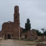 Belchite iglesia 150x150 Pueblo viejo de Belchite