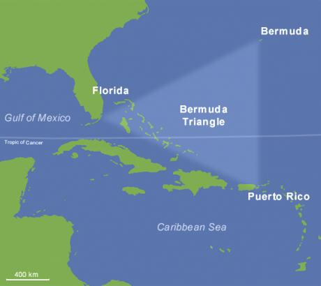 Bermuda Triangle 460x410 El misterio del Triángulo de las Bermudas