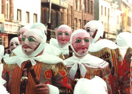 Binche 460x328 El Carnaval de Binche, el más famoso de Bélgica