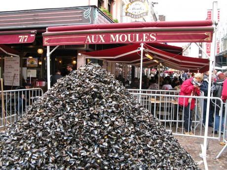 Braderie de Lille 460x345 La braderie de Lille, la gran fiesta de los mejillones