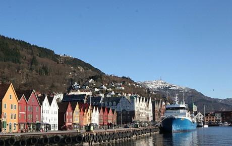 Bryggen 460x291 Bryggen y sus casitas de madera