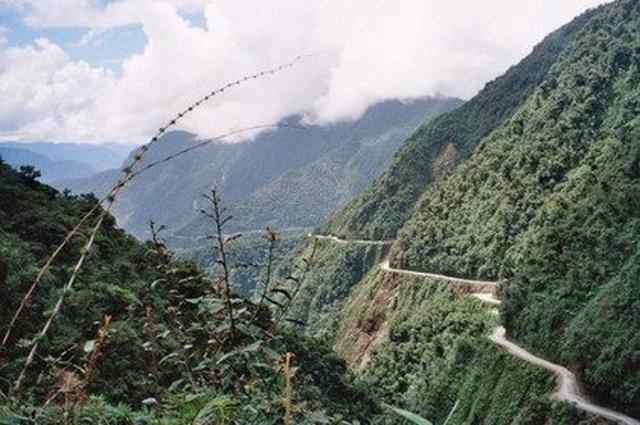 Carretera bolivia Rutas un poco peligrosas