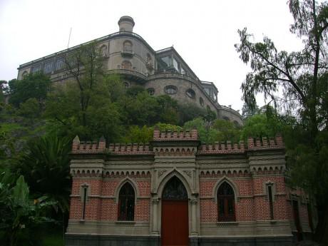 Castillo de Chapultepec 460x345 El bello e histórico Castillo de Chapultepec