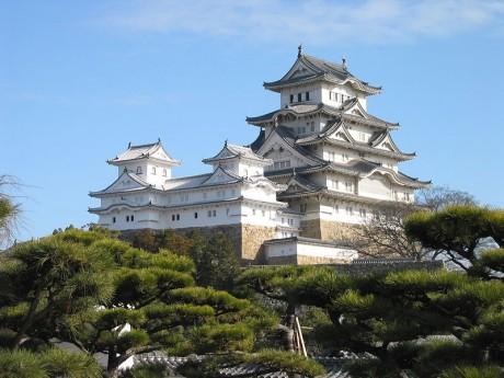 Castillo de Himeji 460x345 El castillo de Himeji, la garza blanca