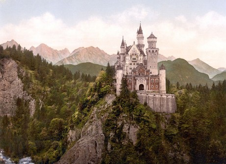 Castillo de Neuschwanstein 460x335 Baviera, una tierra hermosa y fascinante