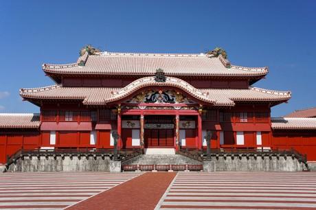 Castillo de Shuri Okinawa 460x306 El antiguo reino de Ryukyu