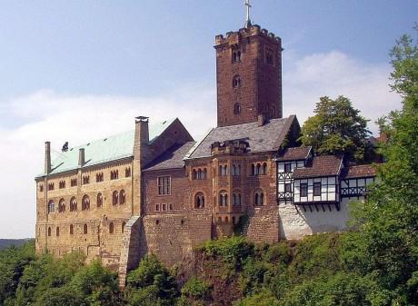 Castillo de Wartburg 460x337 El castillo de Wartburg, una auténtica fortaleza medieval