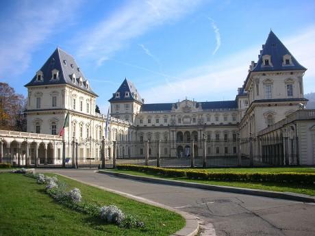 Castillo del Valentino 460x345 Las residencias de los Saboya en Turín