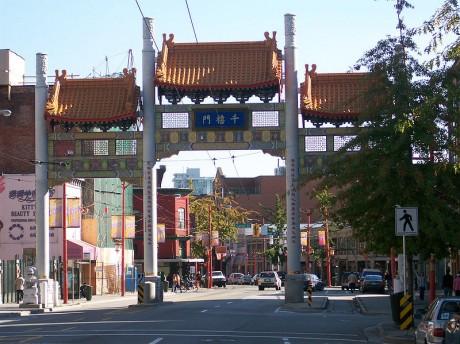 Chinatown Millenium Gate 460x344 Chinatown, un trozo de China en Vancouver