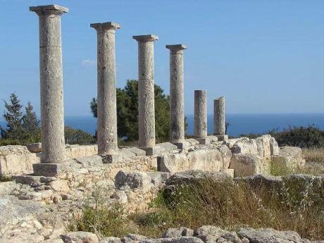 Chipre Templo de Apolo 460x345 Las grandes islas del Mediterráneo: Chipre, la tierra de los dioses