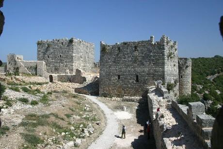 Ciudadela de Saladino 460x307 La Ciudadela de Saladino y el Crac de los Caballeros
