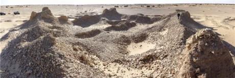 Ciudades enterradas en el Sahara 460x154 Descubiertas 100 ciudades en ruinas en el Sahara