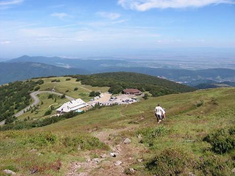Col du Grand Ballon 460x345 Las Rutas de los Picos de Francia