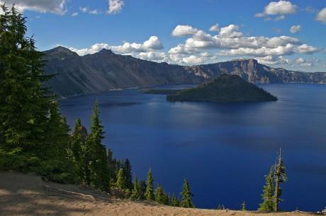 Crater Lake 460x306 Crater Lake: el nombre habla por sí solo