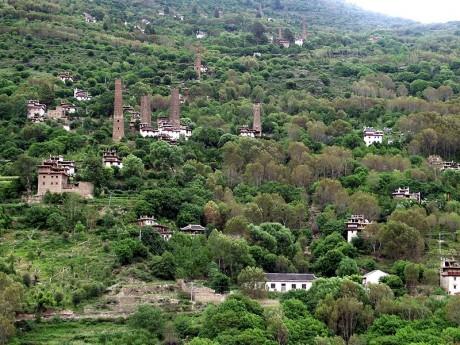 Danba 460x345 Danba, la tierra tibetana de las fortalezas