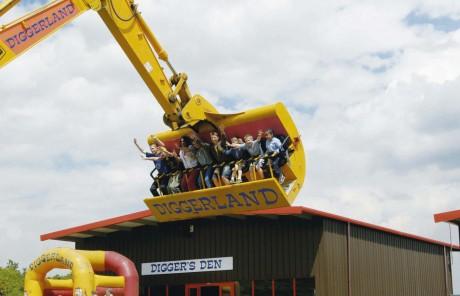 Diggerland 460x296 Diggerland, el parque de atracciones de la construcción