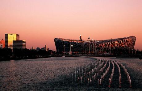 Estadio Olímpico de Pekín 460x297 El Nido olímpico de Pekín