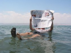 FLotar Mar Muerto Flotar en el Mar Muerto