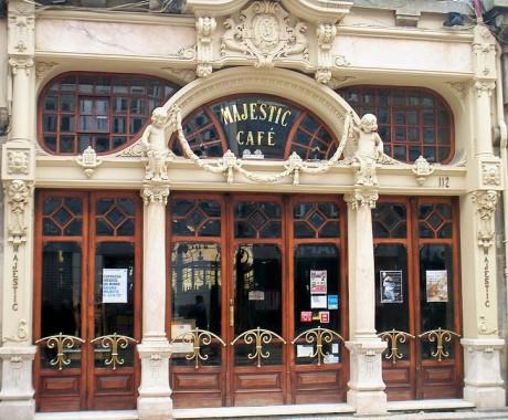 Fachada Café Majestic 460x380 El Majestic, un café de los años 20