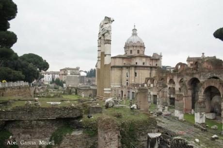 Foro romano 460x306 La Via de los Foros de Roma