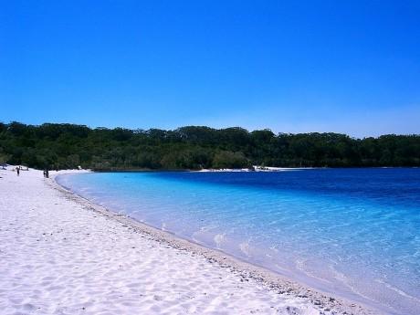Fraser Island Lake McKenzie 460x345 El paraíso australiano: Fraser Island