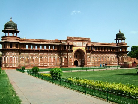 Fuerte de Agra 460x345 El fuerte de Agra, de fortaleza a cantera